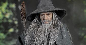 Gandalf, o Cinzento (Ian McKellen) – Action Figure Perfeita O Senhor dos Anéis 1:6 Asmus Toys