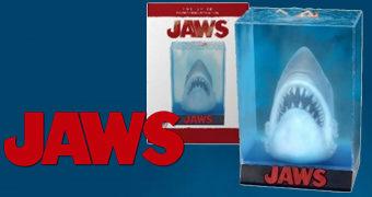 Pôster Diorama 3D do Filme Tubarão (Jaws) de Steven Spielberg