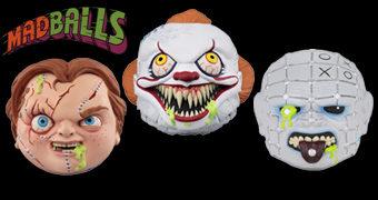 Madballs Horrorballs Série 2 com Pennywise, Pinhead e Chucky