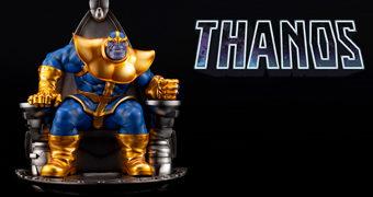 Estátua Thanos no Trono Espacial 1:6 Marvel Fine Art (Kotobukiya)