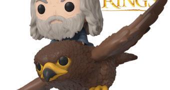 O Senhor dos Anéis Pop! Rides: Gwaihir, o Senhor dos Ventos com Gandalf, o Cinzento