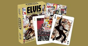 Baralho com Pôsteres dos 31 Filmes de Elvis Presley
