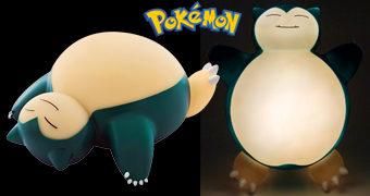Luz Noturna Pokémon: Snorlax Gorducho e Dorminhoco