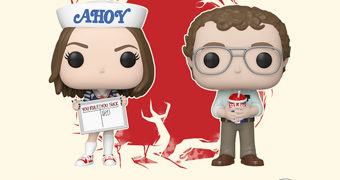Bonecos Stranger Things Pop! 3º Temporada: Robin Buckley e Alexei