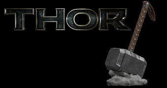 Cofre Martelo Mjölnir do Poderoso Thor