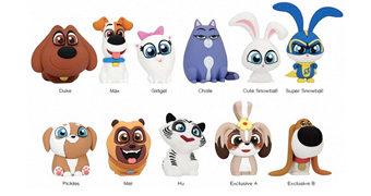 Chaveiros 3D Monogram Pets – A Vida Secreta dos Bichos 2