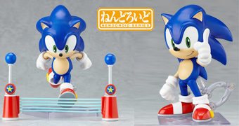 Boneco Nendoroid Sonic the Hedgehog (Sega)