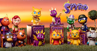 Mini-Figuras Dragão Spyro Kidrobot (Blind-Box)