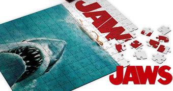 Quebra-Cabeça Pôster do Filme Tubarão (Jaws) de Steven Spielberg com 1.000 Peças