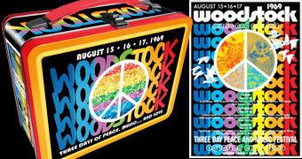 Lancheira Festival de Woodstock: 3 Dias de Paz, Música e Amor!