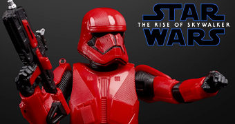"Sith Trooper (A Ascensão Skywalker) Action Figure 6"" Star Wars Black Series"