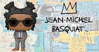 Boneco Pop! do Artista Jean-Michel Basquiat (NYCC)