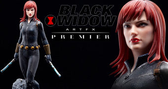 "Black Widow (Viúva Negra) ArtFX Premier – Estátua Kotobukiya Elite 1:10 ""The Women of Marvel"""