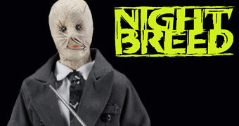 Dr. Phillip Decker (David Cronenberg) em Nightbreed de Clive Barker – Action Figure Retro Neca Clothed