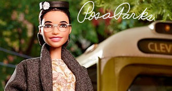 Barbie The Inspiring Women: Rosa Parks