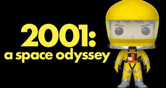 Boneco Pop! Dr. Frank Poole 2001 – Uma Odisseia no Espaço