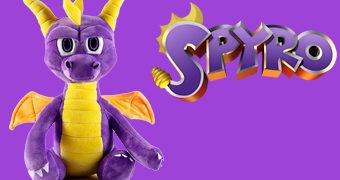 Dragão Spyro de Pelúcia (Kidrobot)