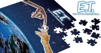 Quebra-Cabeça Pôster E.T. – O Extraterrestre de Steven Spielberg com 1.000 Peças