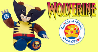 Urso de Pelúcia Wolverine Build-a-Bear