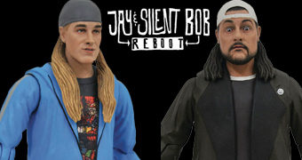 Action Figures do Filme Jay and Silent Bob Reboot Select Line (Jason Mewes e Kevin Smith)