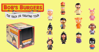 "Mini-Figuras Bob's Burgers ""The Trick or Treating Tour"" (Blind-Box)"