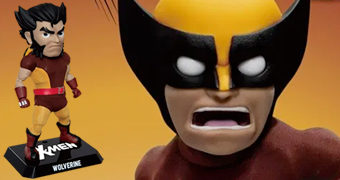 Action Figure Wolverine X-Men Egg Attack Action