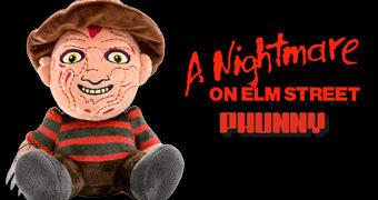 Freddy Krueger PHUNNY (A Hora do Pesadelo) – Boneco de Pelúcia Kidrobot