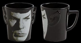 Caneca Sr. Spock com Orelhas 3D da Série Star Trek TOS