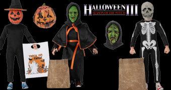 Crianças com Máscaras Silver Shamrock (Halloween III: A Noite das Bruxas) – Action Figures Neca Clothed
