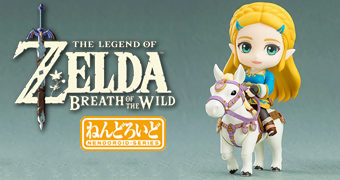 Boneca Nendoroid Princesa Zelda – The Legend of Zelda: Breath of the Wild