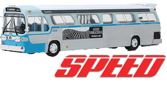 Ônibus do Filme Velocidade Máxima com Sandra Bullock e Keanu Reeves – Réplica Greenlight Die-Cast em Escala 1:43