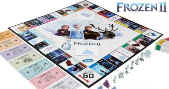 Jogo Monopoly Frozen 2 – O Reino do Gelo