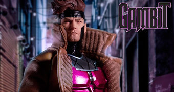 Action Figure Gambit One:12 Collective X-Men Marvel Comics (Mezco)