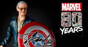 Action Figure Stan Lee Marvel Legends – Marvel Comics 80 Anos