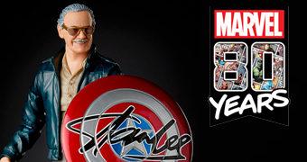 Action Figure Stan Lee Marvel Legends – Marvel Comics 80 Anos