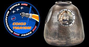 Cofre Soyuz Cápsula Espacial Russa (Soyuz TMA-19M)