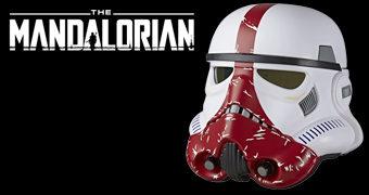 Incinerator Stormtrooper Capacete Eletrônico 1:1 da Nova Série de TV Star Wars The Mandalorian