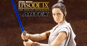 Rey ArtFX Star Wars: A Ascensão Skywalker – Estátua Kotobukiya 1:7
