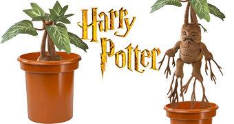 Planta Mandrágora de Pelúcia com Grito Agudo e Fatal (Harry Potter)