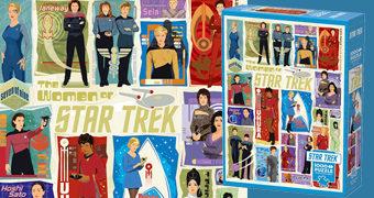 Quebra-Cabeça As Mulheres de Star Trek com 1.000 Peças