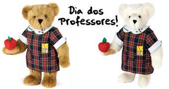 Um Feliz Dia do Professor com as Lindas Ursinhas Professoras!