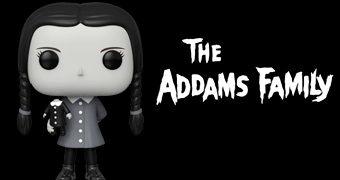 Boneca Pop! Wednesday Addams da Clássica Série de TV A Família Addams