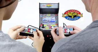 Street Fighter II: Champion Edition Mini Arcade Jogável