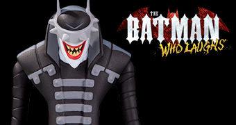 Action Figure O Batman Que Ri Desenhada por Ty Templeton no Estilo Desenho Animado de Batman: A Série Animada