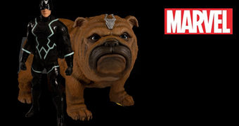 Action Figures Black Bolt & Lockjaw One:12 Collective – Inumanos Marvel (Mezco)