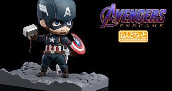 Boneco Nendoroid Capitão América – Vingadores: Ultimato