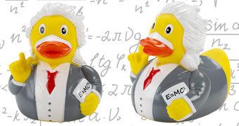 Patinho de Borracha Albert Einstein