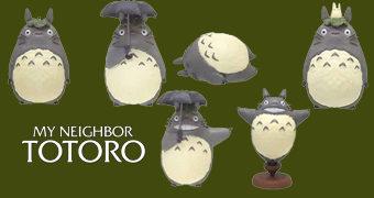 Mini-Figuras Benelic Meu Amigo Totoro em Diferentes Poses (Hayao Miyazaki)