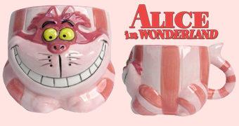 Caneca Gato de Cheshire de Alice no País das Maravilhas (1951)