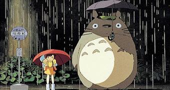 Mini Quebra-Cabeça Meu Amigo Totoro no Ponto de Ônibus (Hayao Miyazaki)